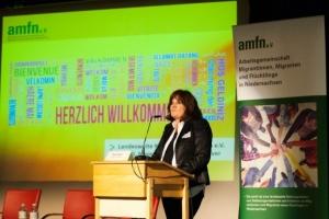 Elvira Koop - Sprecherin der Vorstands von amfn e.V.